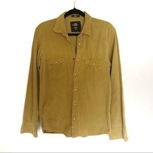 H&M Corduroy Button Down Shirt